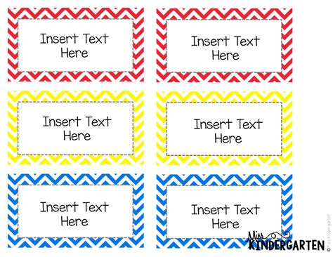 word card template august 2014 miss kindergarten