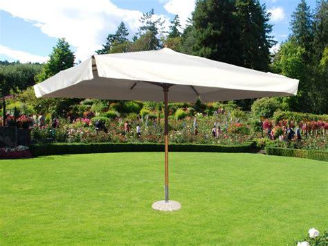 ombrelloni da giardino in legno ombrellone da giardino a palo centrale ustica palo in legno