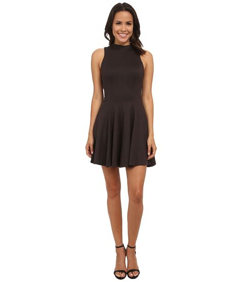 Amanda Dress Grey 1 lyst amanda uprichard warby dress in gray