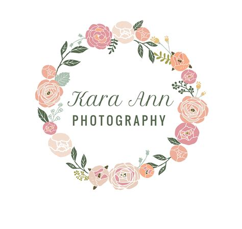 design logo flower photography logo photo branding photography brand