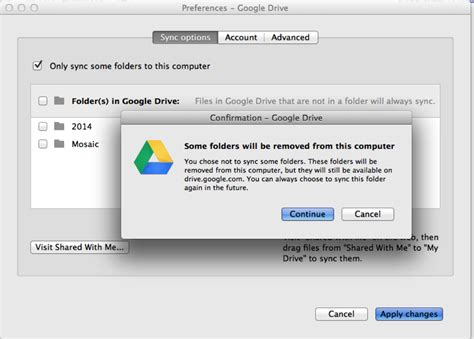 drive sync how do i configure google drive to not sync everything to