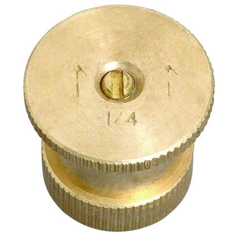 orbit  ft  pattern brass twin spray nozzle