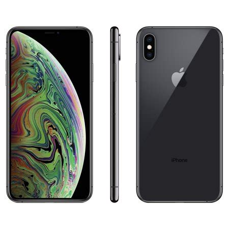 talk apple iphone xs max w 64gb gray walmart