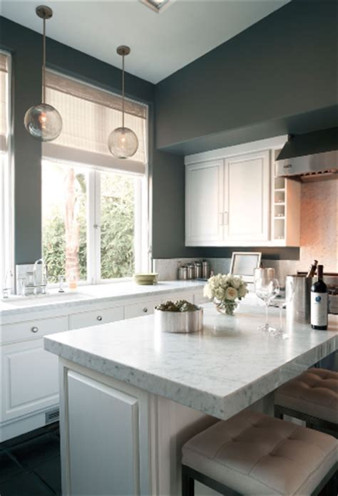 Gray Kitchen Walls With White Cabinets White Kitchen Cabinets Gray Walls Design Ideas