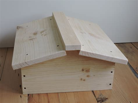 top bar hive roof warre beehive roof