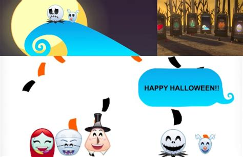 Disney The Nightmare Before As Told By Emoji an amazing retelling of the nightmare before christmas using only emojis news