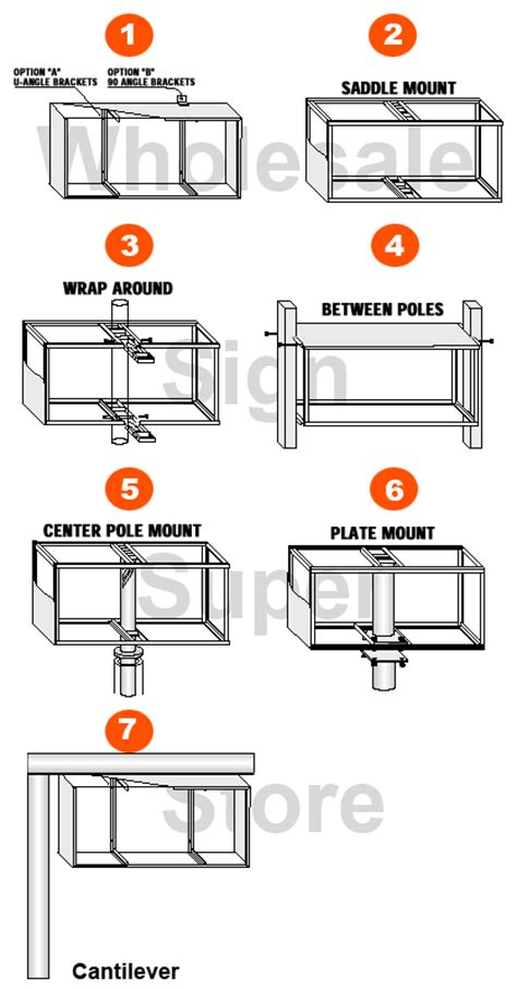 Wholesale Aluminum Illuminated Extruded Sign Cabinets, Custom Cabinet Signs, Discount Cheap