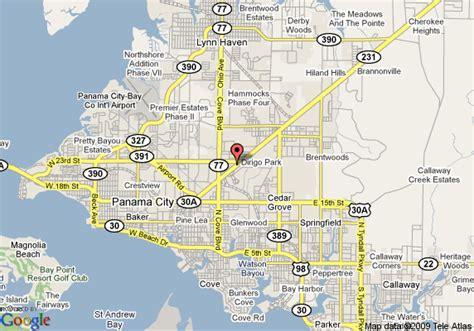 Garden City Florida by Map Of Garden Inn Panama City Panama City
