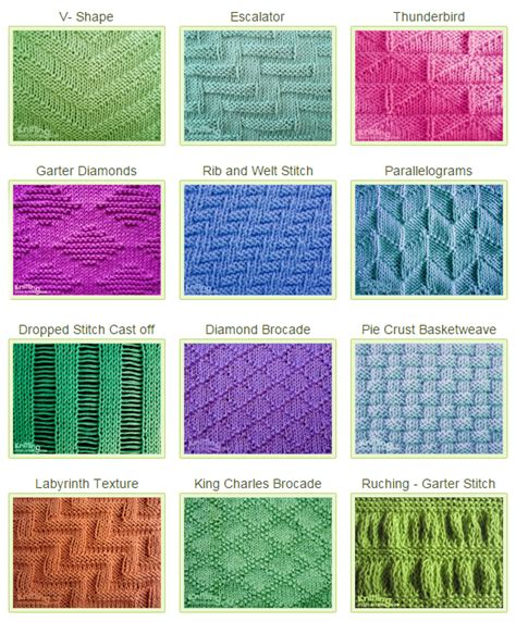 knit and purl in same stitch stitch patterns using knit purl combinations knitting