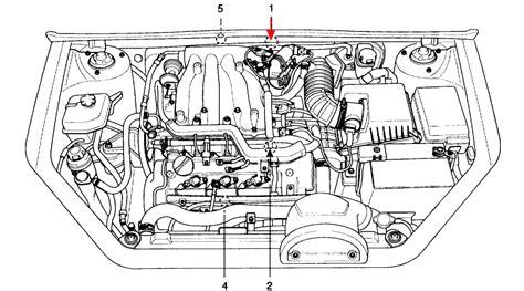 kia amanti evap vent removal service manual