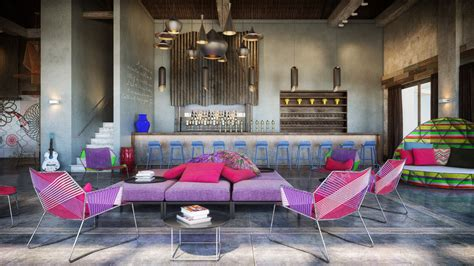colorful interior colorful exuberant interior design inspiration from w