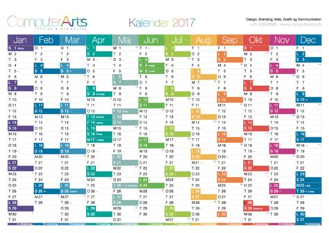 Kalender 2018 Helligdage Kalender 2018 Ugenumre