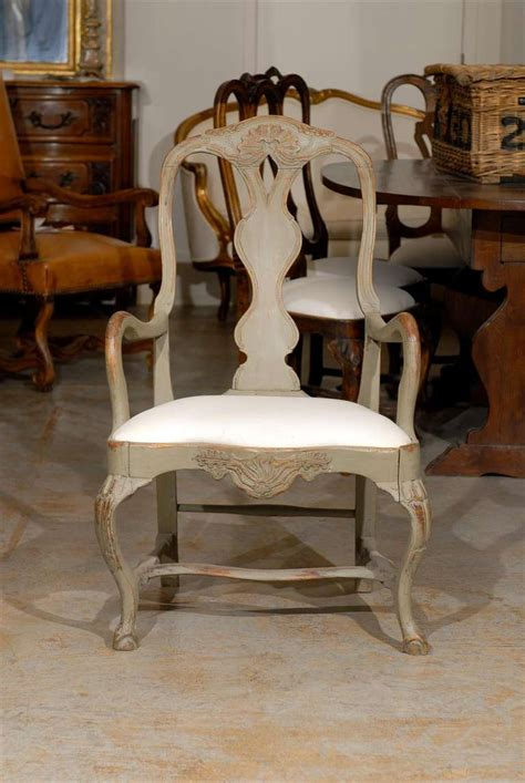 18th Century Swedish Armchair At 1stdibs