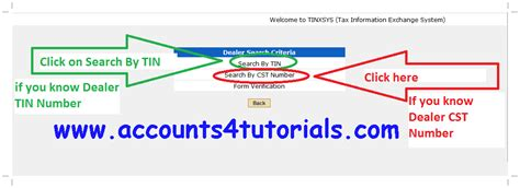 Address Search By Pan No All States Vat And Cst Dealer Search Accounting Taxation