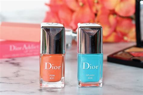 dior cool wave summer 2018 collection review and swatches