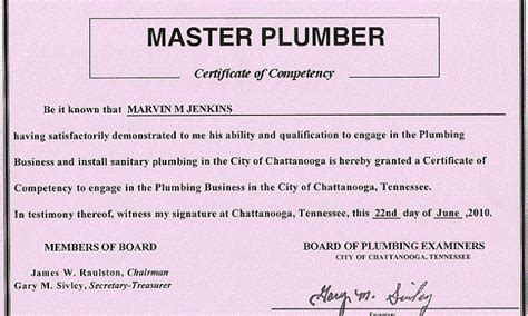 Pa Plumbing License by Pin Awards And Recognitions On