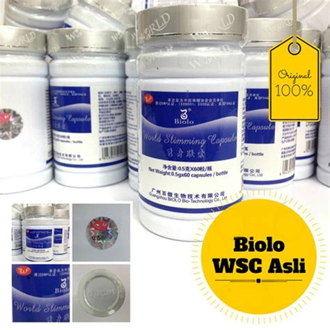Pelangsing Biolo Wsc by Wsc Biolo Herbal