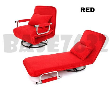 spinning sofa chair multipurpose foldable folding single spinning chair sofa