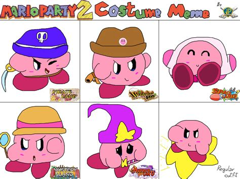 Mario Party Memes - mario party 2 costume meme kirby by bunny kirby on deviantart