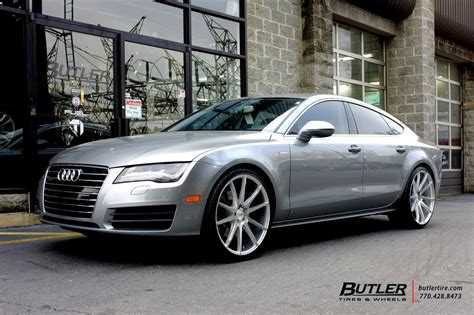 audi a7 with 22in savini bm12 wheels exclusively from