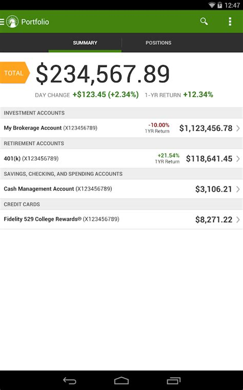 Fidelity Background Check Fidelity Investments Android Apps On Play