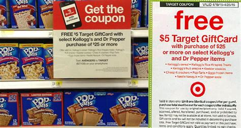 Target Gift Card Deals This Week - great deals on kellogg s products this week with in ad target gift card coupon