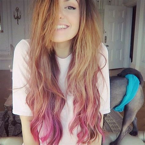dyed hairstyles for brunettes best 25 dyed hair ends ideas on pinterest dip dyed hair