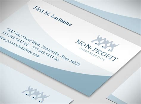 Non Profit Business Cards Templates by Non Profit Groups Community Organizations Business Card