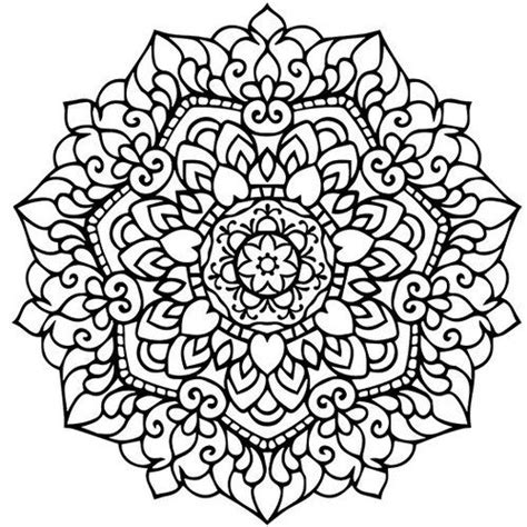heart mandala coloring pages for adults mandala adult