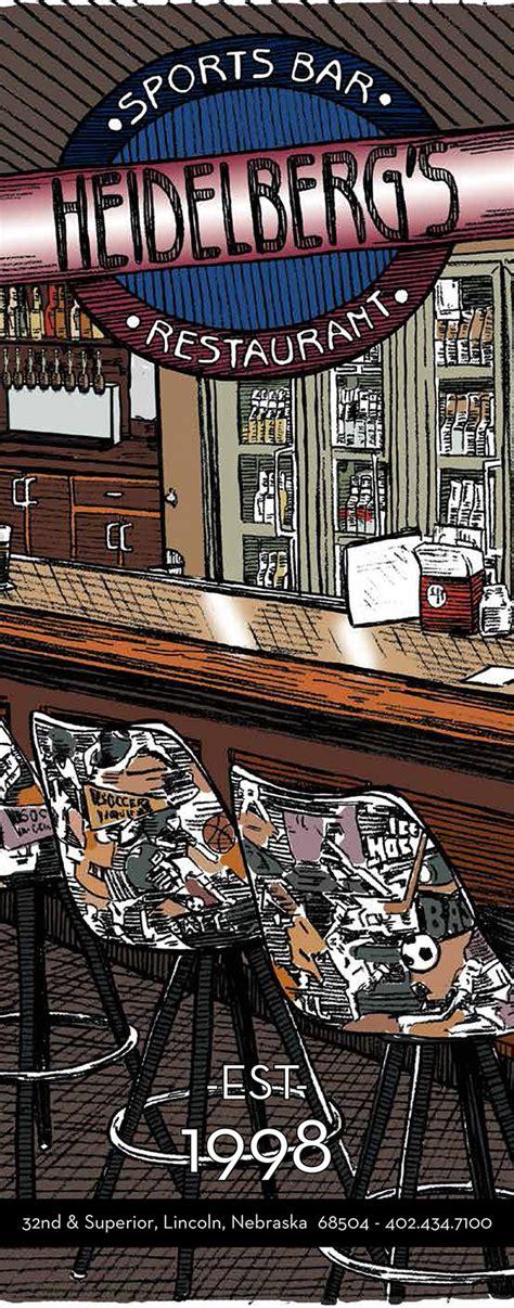 heidelberg s lincoln ne heidelberg s sports bar menu with prices 4620 bair ave