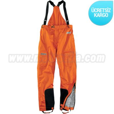 icon pdx waterproof turuncu tulum