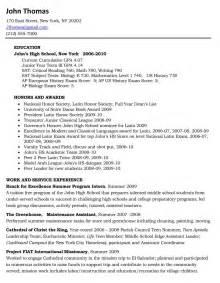 Sample Resume For Scholarship Scholarship Resume Resume Format Download Pdf