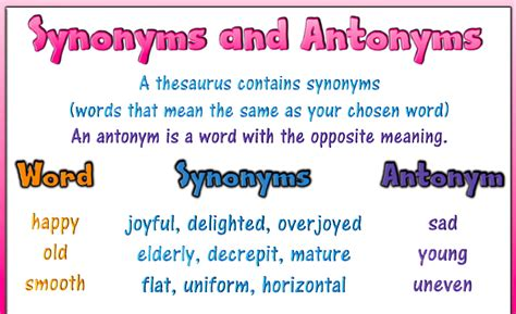 pattern meaning and synonyms common worksheets 187 meaning of opposite words preschool