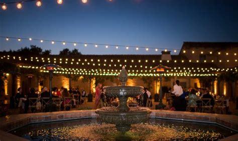 outdoor wedding venues central coast california wedding venues event locations for santa barbara