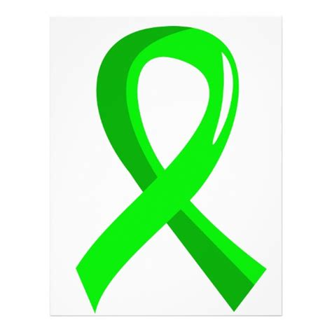 hodgkin s lymphoma ribbon color non hodgkin s lymphoma lime green ribbon 3 custom flyer on