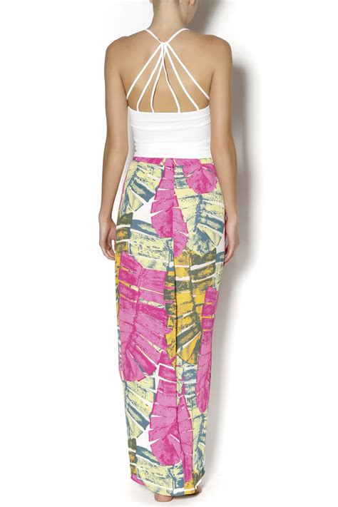 ruby and hawaiian maxi skirt from manhattan shoptiques