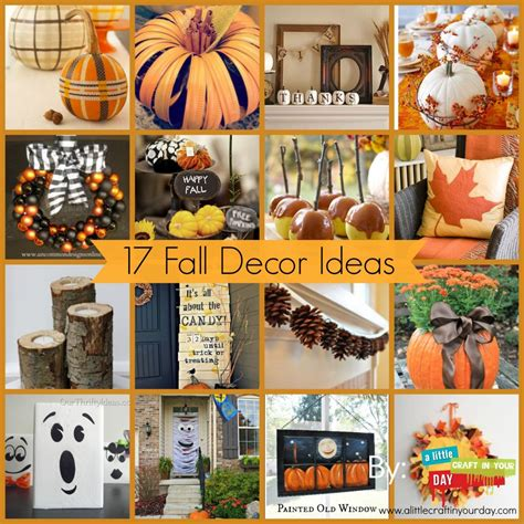 17 fall decor ideas a craft in your day