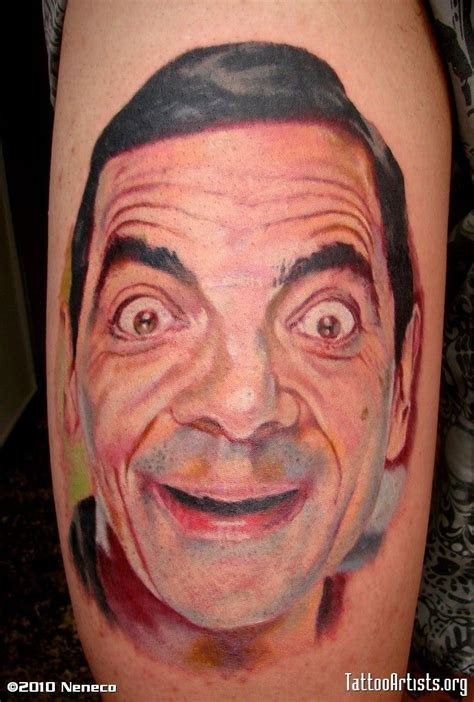 bean tattoo 175 best images about portrait on