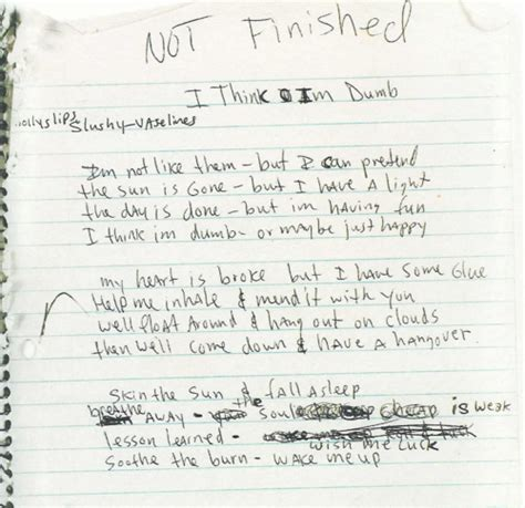 nirvana dive lyrics lyrics to dumb by kurt cobain