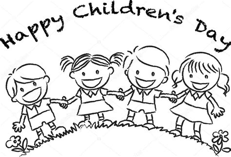 S Day Drawing Happy Children S Day Stock Photo 169 Wenpei 65742525