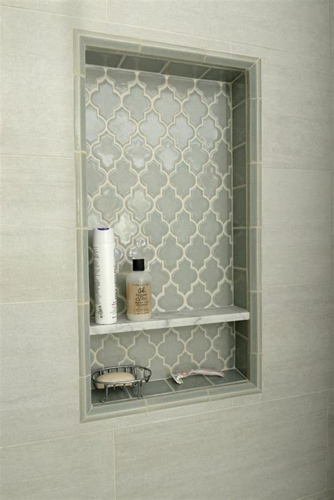 niche in bathroom tiled shower niche shower shelf bathroom awesome