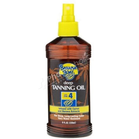 banana boat tanning oil spf 15 review sun care banana boat spf4 deep tanning oil 236ml