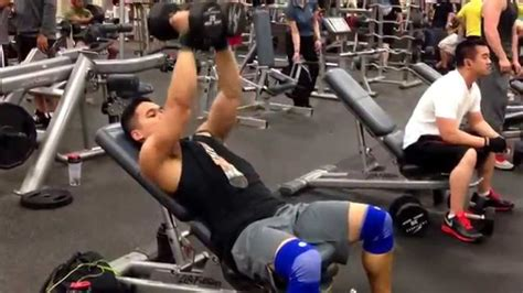 bench press flys incline dumbbell press to fly to close grip press to