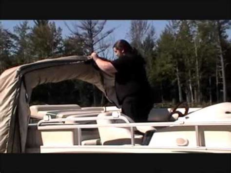 pontoon boat guard cover the boat guard retractable pontoon boat cover youtube