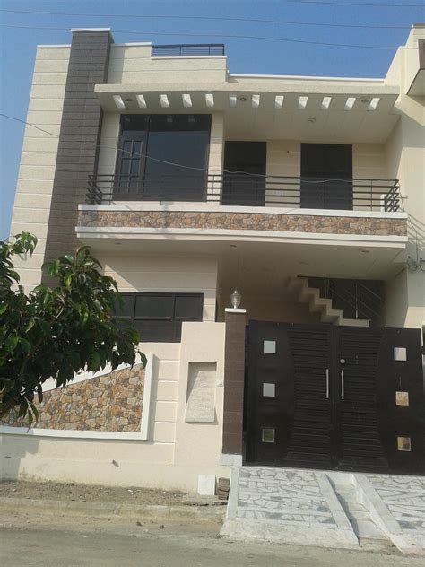 Simple Cost Effective Elevation Design For A Two Storey