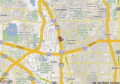 map of farmers branch texas map of days inn dallas farmers branch dallas