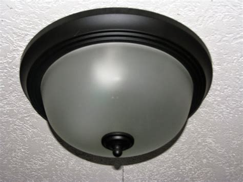 Remove Ceiling Light Remodelaholic Update A Dome Ceiling Light With Faceted