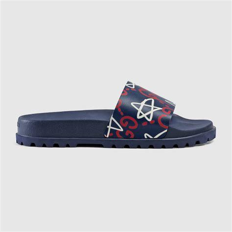 gucci sandals mens guccighost slide sandal gucci s sandals 429360dss004178