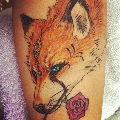my fox tattoo left forearm tattoos pinterest