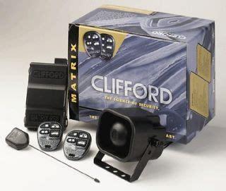 Alarm Clifford Matrix lojack keyless remote car alarm early warning idikf100